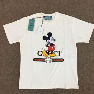 Gucci Men Disney Print Offwhite Oversize T-Shirt S